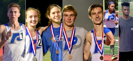 Track and Field Team Wins Multiple Medals at State Meet
