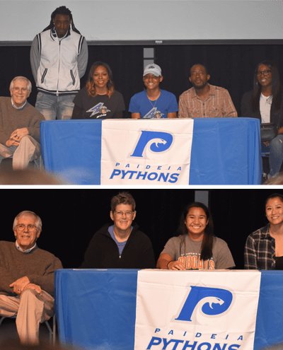 2018 Fall college sports signees